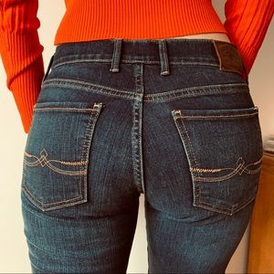 Lucky Brand Sweet'N Low blue jeans size 27 regular